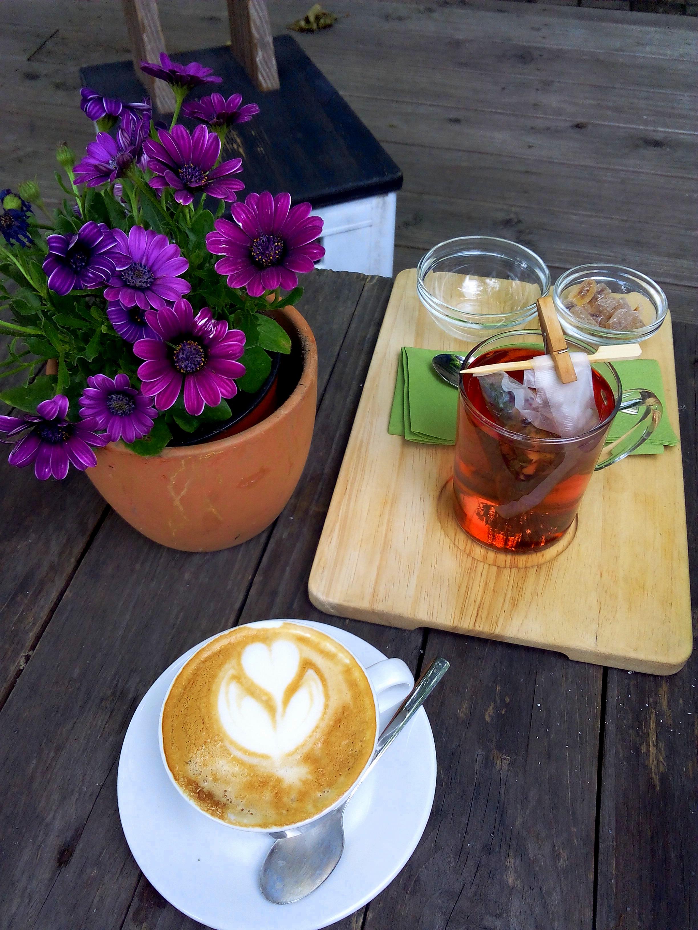 tea at Café Pow