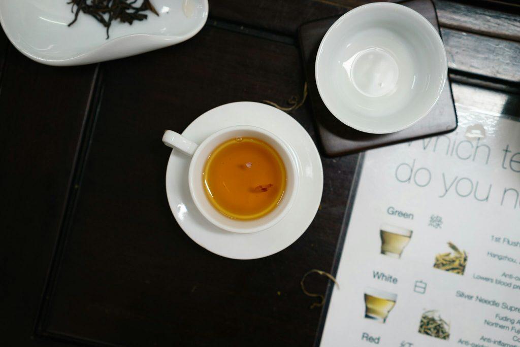 Tea tasting in Hong Kong