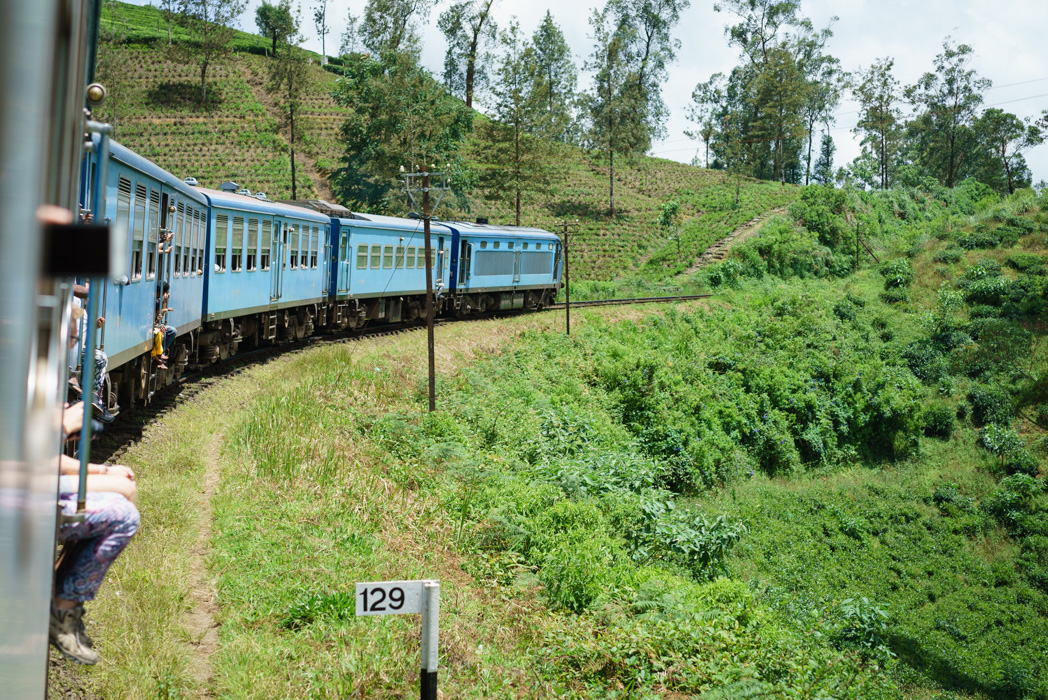 From Kandy to Ella by train