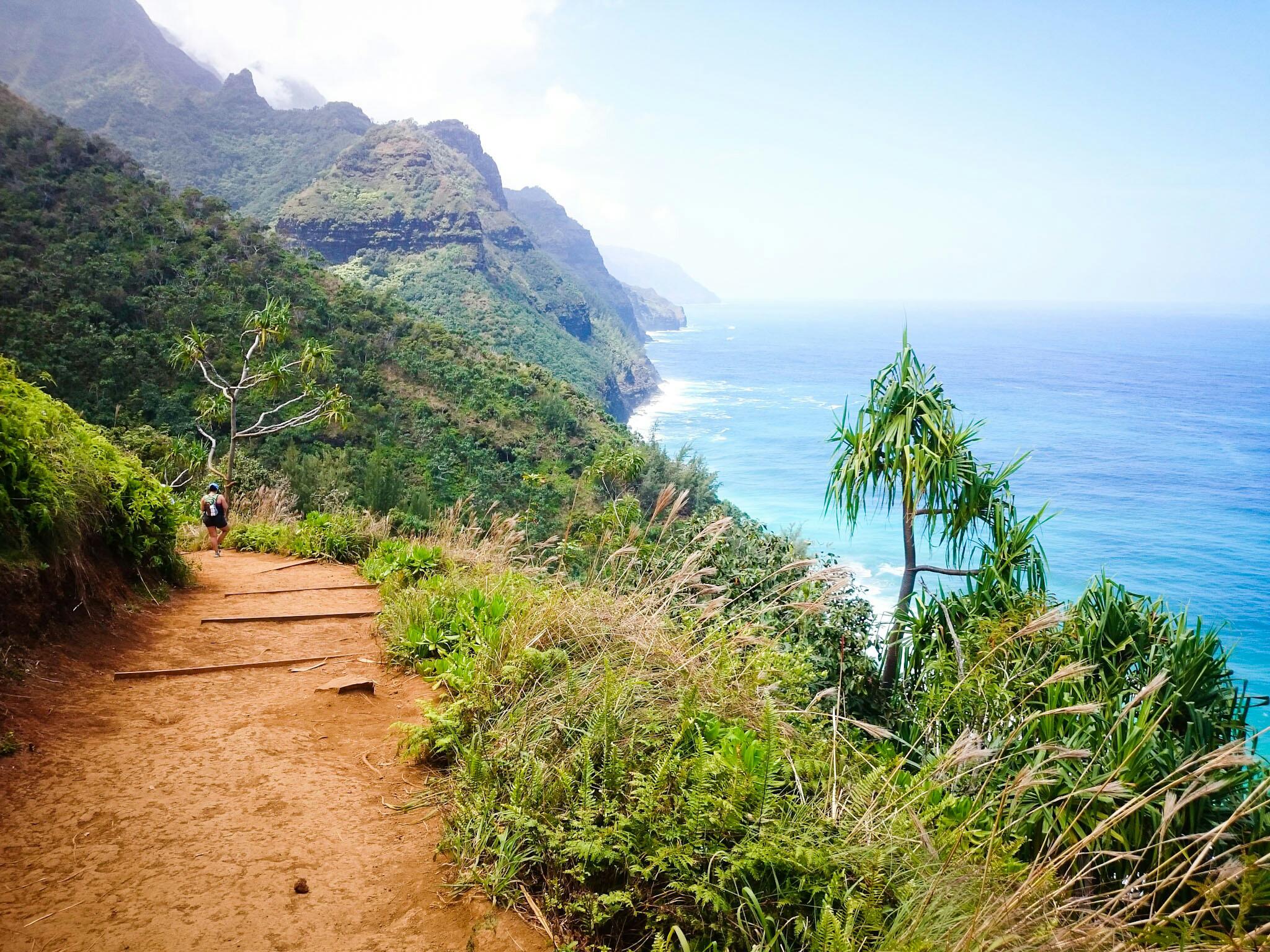 Kalalau trail à Kauai