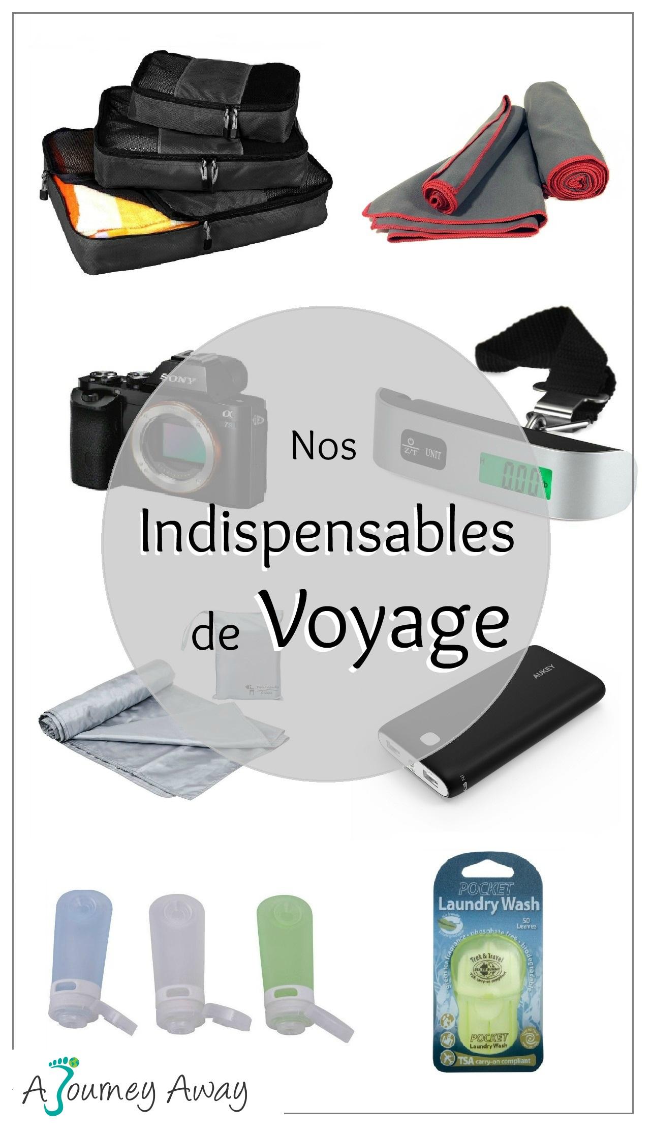 Indispensables de voyage : ce qu'il y a dans nos sacs à dos | Blog de voyage A Journey Away