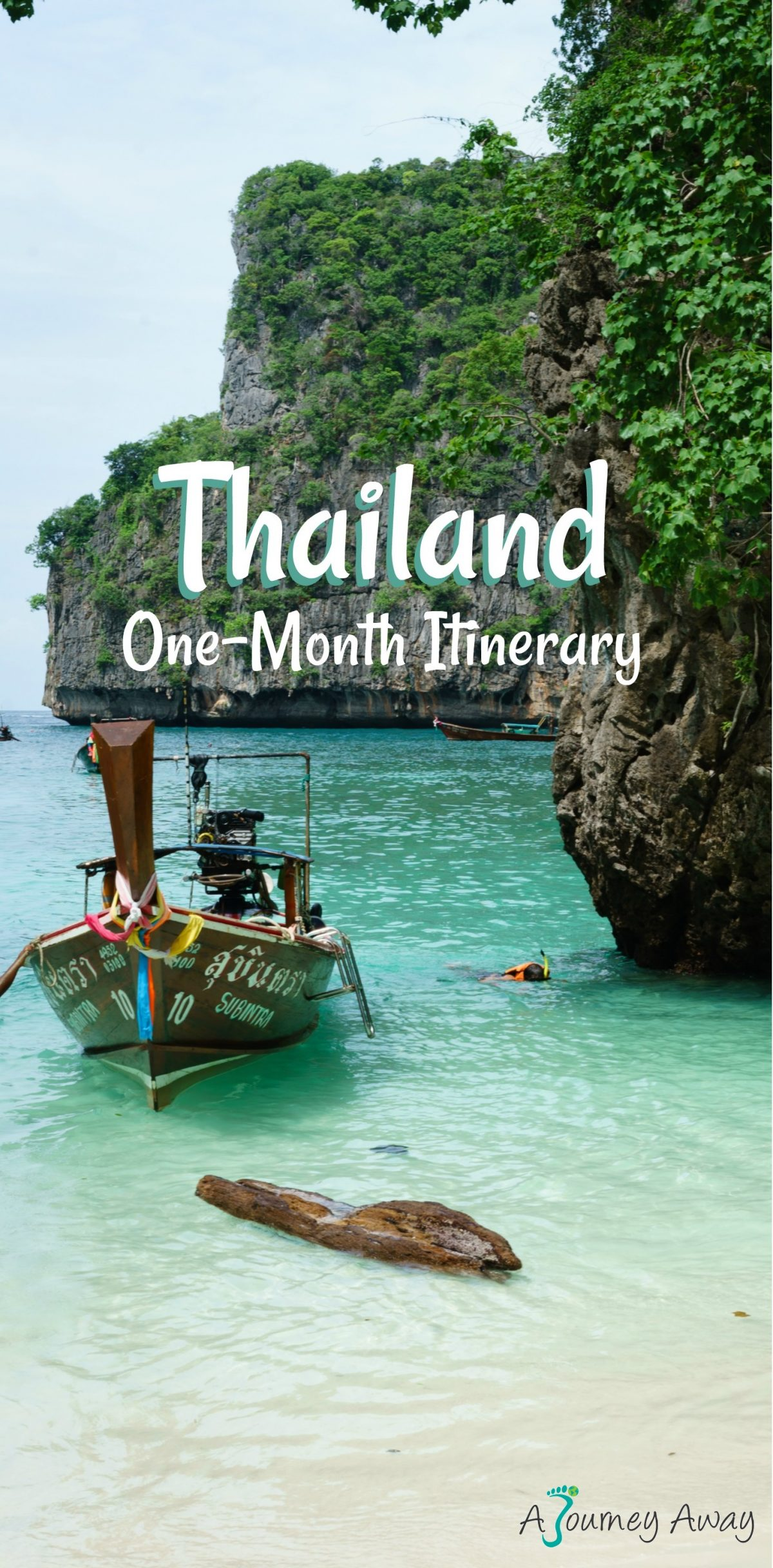 One-Month Itinerary in Thailand | A Journey Away travel blog