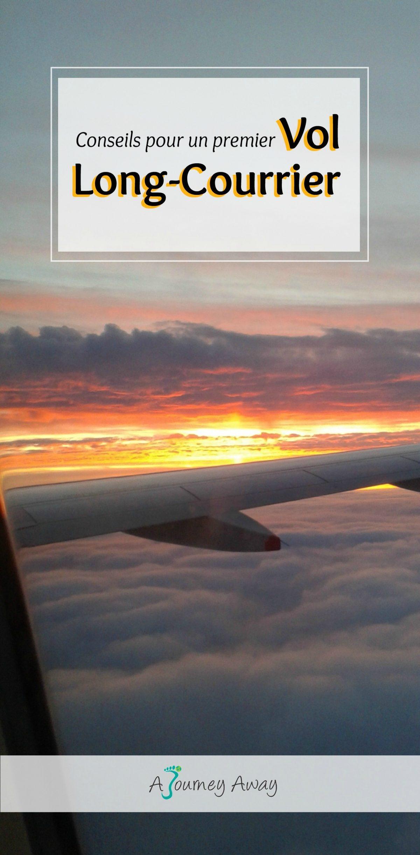 Conseils pour un premier vol long-courrier | Blog de voyage A Journey Away