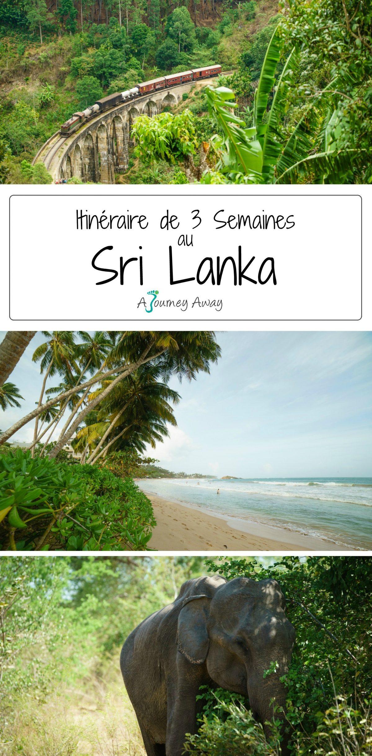 Trois Semaines au Sri Lanka, l'Itinéraire Parfait | Blog de voyage A Journey Away