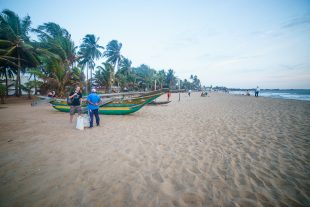Negombo beach, Sri Lanka