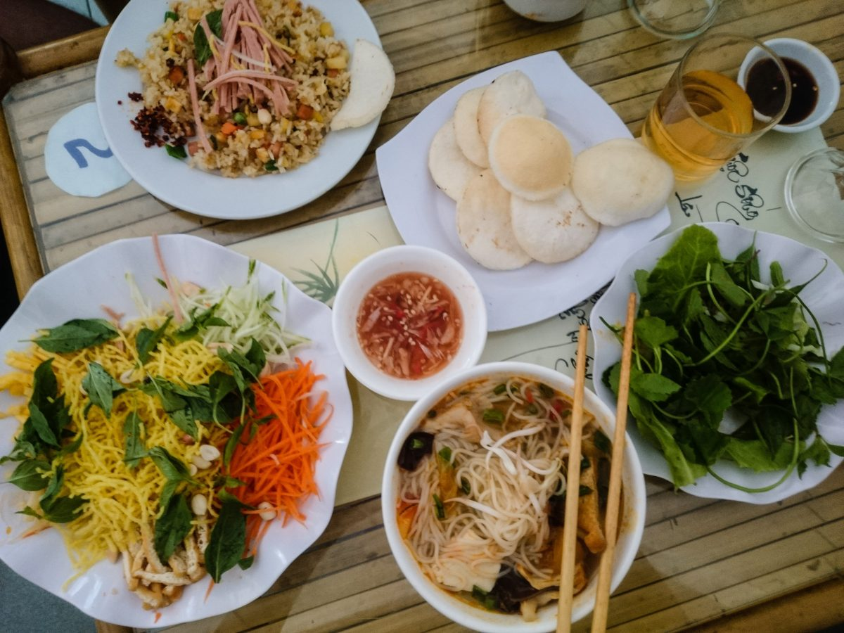 Cheap food in Vietnam