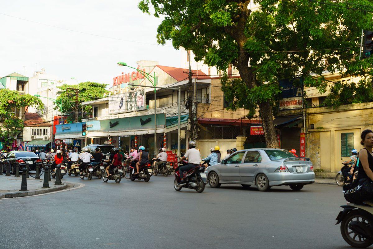 Motorbikes in Vietnm