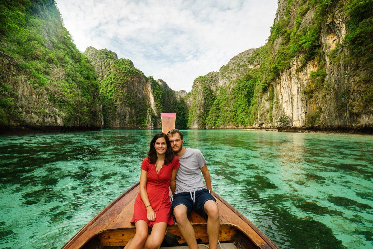 Lagon Pileh de Koh Phi Phi Leh, Thaïlande