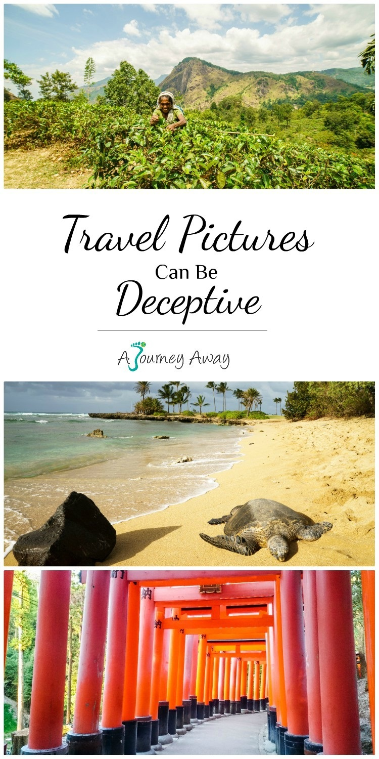 Deceptive travel pictures | A Journey Away travel blog