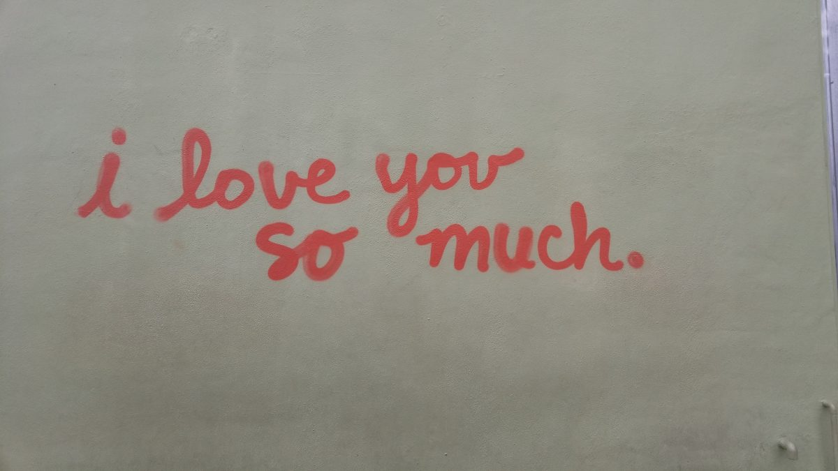 I love you so much wall in Austin